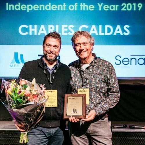 Charles Caldas Independent of the Year STOMP